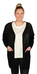 Cassiopeia - Adela nice long cardigan with pockets