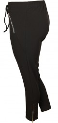 Cassiopeia - Unitti 7/8 bukser glidelås i bein, delvis strikk samt bindebånd i taljen