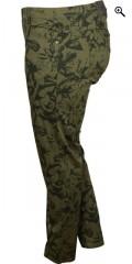 Zhenzi - Twist pants med super stretch og 5 lommer, bæltestropper og elastik i taljen