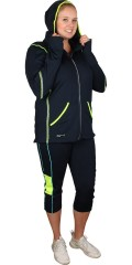 Studio - Fitness hood sweat jakke
