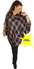Studio - Smart oversize poncho/bluse