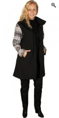Studio - Soft shell with patterned sleeve and detachable cap with line