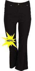 Zhenzi - Flare pants med vidde i ben, superstrech og regulerbar elastik i taljen