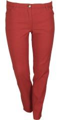 Zhenzi - Twist pants med super strech og elastik i hele taljen