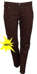 Zhenzi - Twist bomulds bukser med strech og elastik i hele taljen