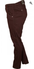 Zhenzi - Twist cotton pants with stretch and rubber band in whole the waist
