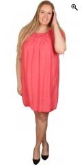 DNY (Marc Lauge) - Så er den tilbage: becca tunica/kjole med flot hæklet hals og hæklede ærmer