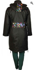 Handberg - Super nice warm quality raincoat with quilted lining