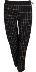 Handberg - Bløt casual bukser med strikk i hele taljen