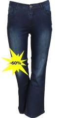 Studio - Jeans bootcut mit Stretch und Regulierbar Elastik in die Taille