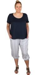 Juna Rose (Bestseller) - T-shirt med korte ærmer og rund hals
