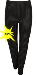 One More (Handberg) - Stripede leggings/bukser med strikk i hele taljen