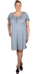 Zhenzi - Supersød kortærmet kjole med vidde i skørtet