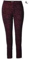 Gozzip - Leggings/bukser med super strekk, flott mønster og strikk i hele taljen