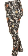 Gozzip - Leggings/bukser med super flott mønster og strikk i hele taljen