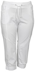CISO (Brandtex) - Capri Hose mit Stricken Elastik und binden in die Taille und Stricken in den Beinen
