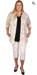 Zhenzi - Skjorte med lange ærmer og en bryst lomme