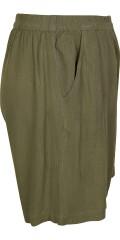 Zhenzi - Shorts mit Elastik in ganze die Taille