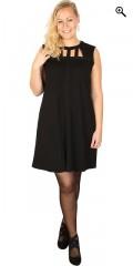 DNY - Lucca Tunika Kleid ohne Ärmeln mit smarte Löcher bei der Hals