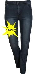 DNY (Marc Lauge) - Super strekk jeans i smart vask ghandi tokyo med 5 lommer og belte stropper