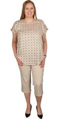 Cassiopeia - T-shirt med korte ærmer og rund hals
