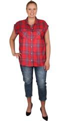 Cassiopeia - Rocka shirt, sommerskjorte med brystlommer