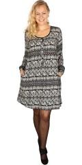 Gozzip - Tunika klänning med långa ärmar