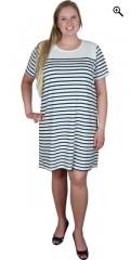 Cassiopeia - Lækker kjole/tunica i maritimt look