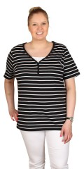 DNY (Marc Lauge) - Sweet short sleeved t-shirt with cheat top