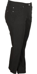 Zhenzi - Long bengalin step pants with adjustable rubber band in the waist