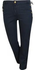 Zhenzi - Salsa pants with 4 pockets, belt straps also super stretch