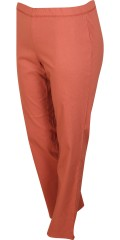 Zhenzi - Jazzy bengalin pants rubber band in whole the waist and stretch