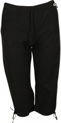 DNY - Corfu 3/4 pant with rubber band in whole the waist, laces in waist and legs