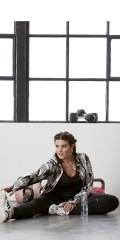 Zhenzi - Fitness jakke i super strechy materiale