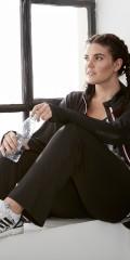 Zhenzi - Yoga pants fitness i super strechy materiale med elastik og snøre i taljen