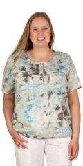 Cassiopeia - Darline t-shirt med strikk nederst