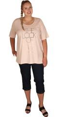 Zhenzi - T-shirt med 2/4 ærme