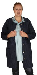 Zhenzi - Cardigan all-buttoned quilted quality