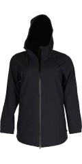 Zizzi - Nice softshell with 2 vejs zipper and cap