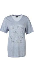 Zhenzi - T-shirt med korte ermer