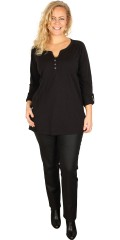 Zizzi - Blouse with long sleeves and