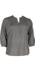 Cassiopeia - Søt skjorte med 3/4 ermer