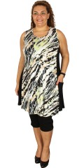 Handberg - Tunika kjole uten ermer og med en lomme i den en side