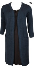 DNY - Long cardigan with pockets