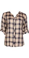 Cassiopeia - Mera skjorte med lange ærmer som kan draperes op