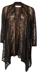 DNY - Abba cardigan in fine lace with long sleeves