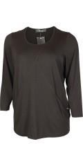 Q´neel - Läcker q-neel tunika/blus i kvalitet viskose-jersey, rund hals och 2 fickor