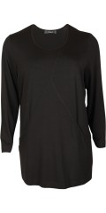 Q´neel - Stylish q-neel tunica in quality viskose-jersey, round neck also 2 pockets