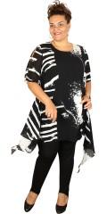 Q´neel - Qneel Tunika/Kleid mit viele feinen Details