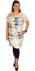 Q´neel - Qneel kjole med flot mønster